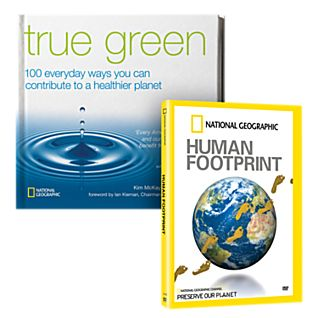 Human Footprint DVD and True Green Book Set