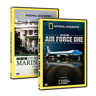 On Board Air Force One and Marine One 2 DVD Set