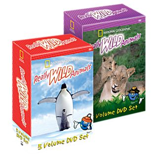 The Complete Really Wild Animals 9 DVD Set