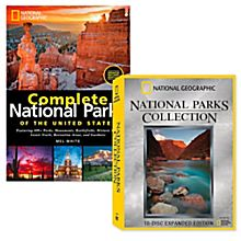 National Parks Book and DVD Collection