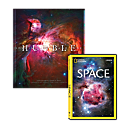Hubble Book and Space DVD Set