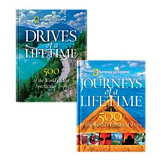 Drives of a Lifetime and Journeys of a Lifetime Book Set