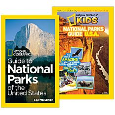 National Parks Guide Books Set