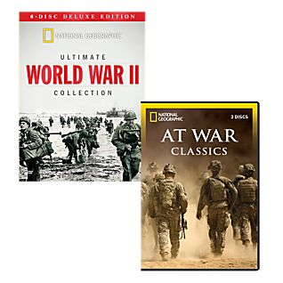 Ultimate World War II and At War Classics DVD Collections