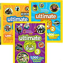 Ultimate Weird But True Kids' Book Set