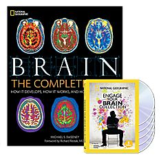 Brain: The Complete Mind Book and Engage Your Brain DVD Collection Set