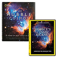 Hubble's Cosmic Journey DVD and the Hubble Cosmos Book Set