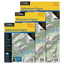 Adventure Paper: Waterproof Ink Jet Map Paper