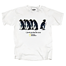 I Just Gotta Be Me Penguin T-shirt