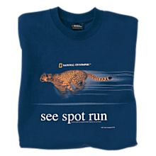 See Spot Run Cheetah T-shirt
