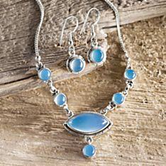 Marmara Sea Chalcedony Jewelry
