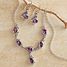 Newar Amethyst Jewelry