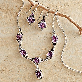 Newar Amethyst Jewelry