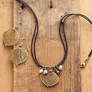 Aspen Leaf Jewelry