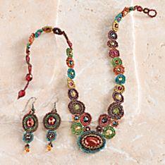 Maya Beaded Jewelry
