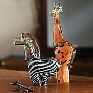 Ngwenya Handblown Glass Animals