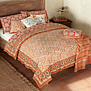 Mughal Jewel Block-print Bedding