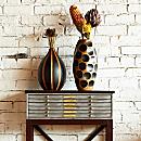 Thai Mango-wood Vases