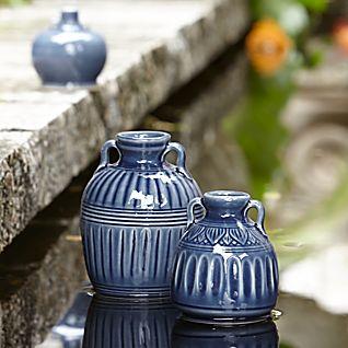 Blue Thai Celadon Vases
