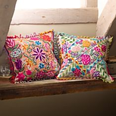 Peruvian Floral Pillows