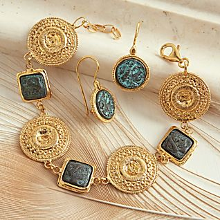 Reproduction Roman Coin Jewelry