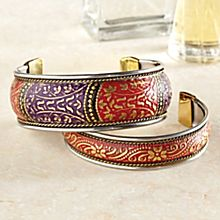 Crystal Palace Brass Bracelets