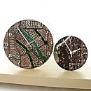 ''My Town'' Aerial Photo Clocks
