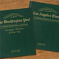 ''Remember When'' Commemorative Newspaper Books