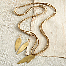 Ethiopian Gold Leaf Jewelry