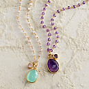 Indian Jeweled Gemstone Necklaces