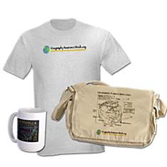Geography Awareness T-shirts & Gifts on CafePress.com