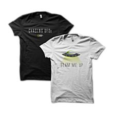 Chasing UFOs T-shirts on CafePress.com