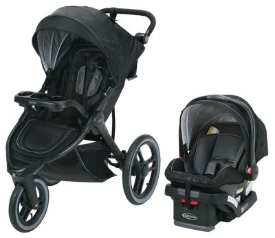 Graco FitFold Jogger Travel System