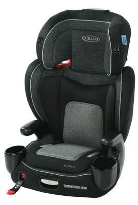 Graco Turbo Booster Grow Highback Booster with RightGuide Seat Belt Trainer
