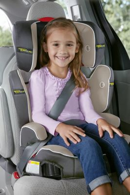 Highback TurboBoosterR Car Seat With Safety SurroundTM
