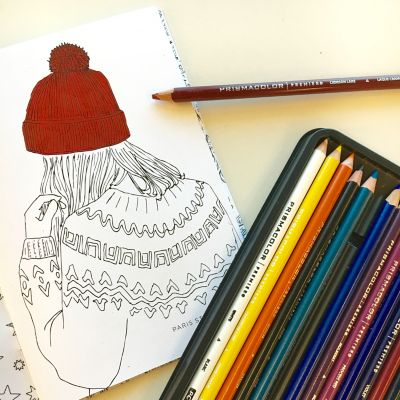 Coloring with Premier® Colored Pencils - Prismacolor