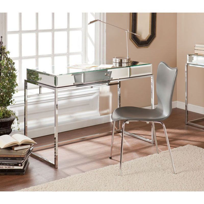 On Trend Glass Tables With Metallic Bases