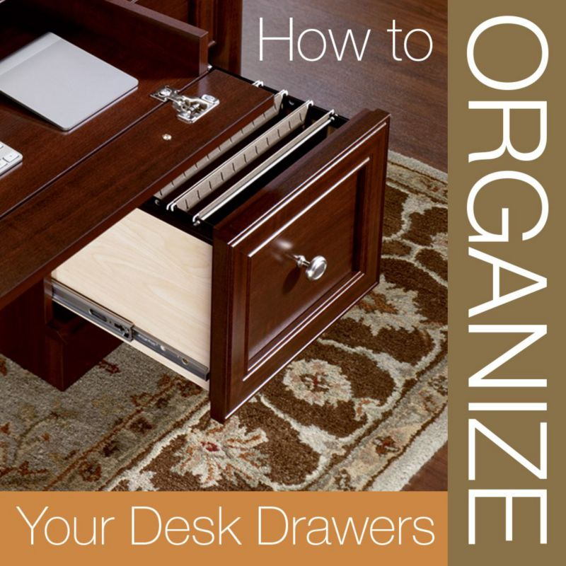 How to organize desk drawers - How to keep your desk organized ...