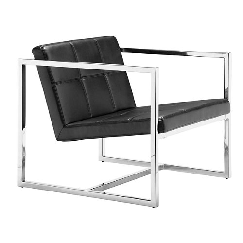 Carbon Occasional Chair - Zuo Modern