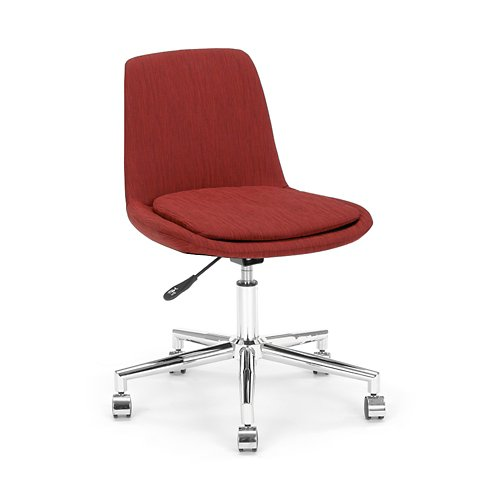 Spin Armless Fabric Swivel Chair 889731182779 Ebay