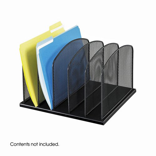 Five Section Desktop Filing Organizer - Safco