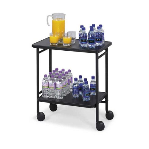 Mobile Folding Beverage/Office Cart - Safco