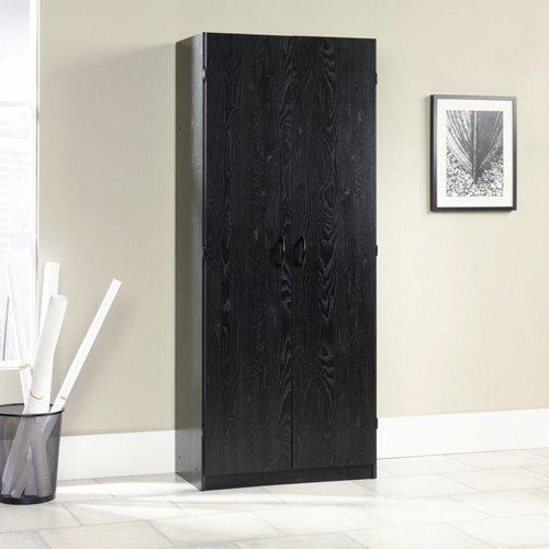 Sauder Ebony Ash Storage Cabinet (410814)