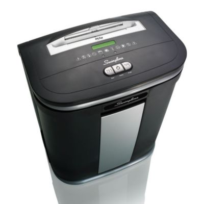 8 Gallon Micro Cut Level P5 Paper Shredder - Swingline