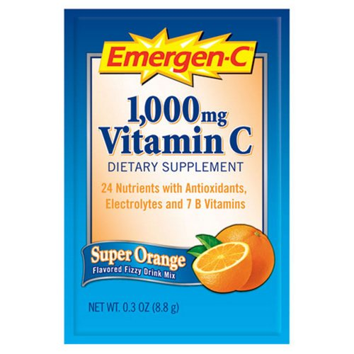 EmergenC Orange Beverage 50 Packages - Office Supplies