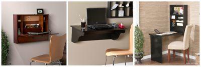Wall Mounted Desk. A Retractable Desktop.