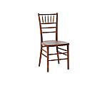 Reception Chair Fruitwood