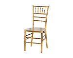 Reception Chair Gold (Stackable)
