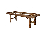 Mason Dining Table Base Walnut 8'x42 in.