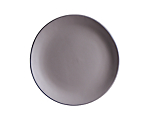 Aster Matte Grey Lunch 8 in.